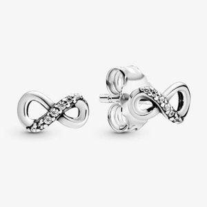 🔥Pandora🔥 Sparkling Infinity Stud Earrings